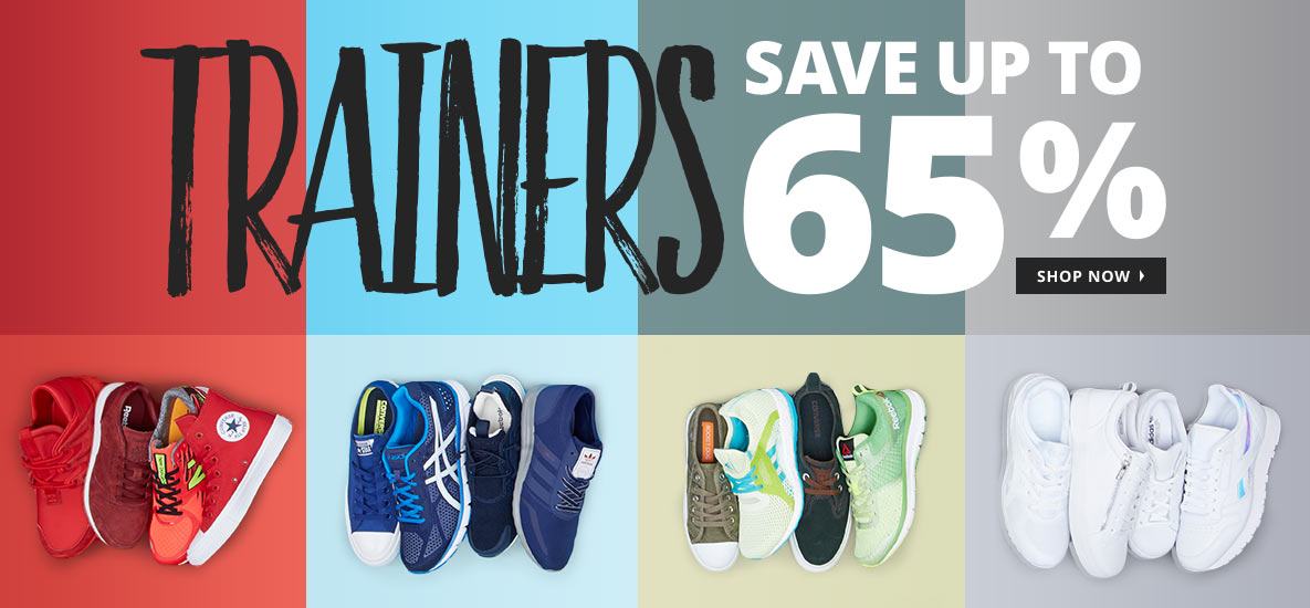 MandM Direct MandM Direct: Sale up to 65% off trainers