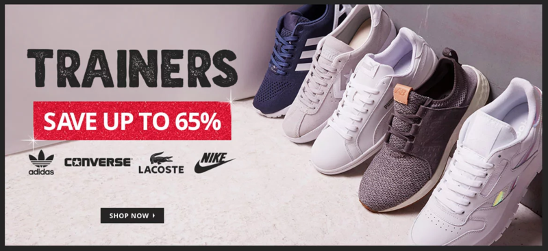 MandM Direct MandM Direct: up to 65% off trainers