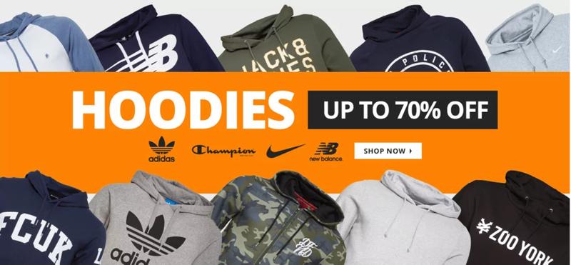 MandM Direct MandM Direct: up to 70% off hoodies