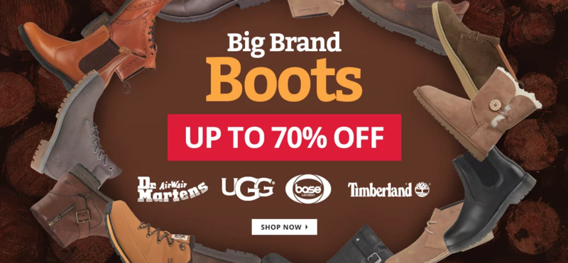MandM Direct MandM Direct: up to 70% off boots