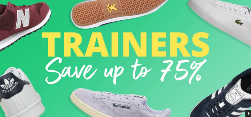 MandM Direct MandM Direct: up to 75% off trainers