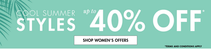 M&Co M&Co: up to 40% off cool summer styles