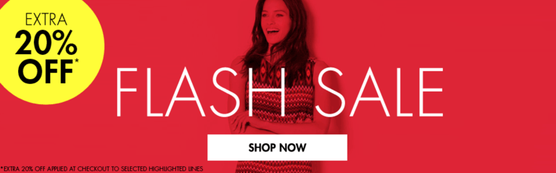 M&Co M&Co: Sale extra 20% off womens, mens and kids clothing
