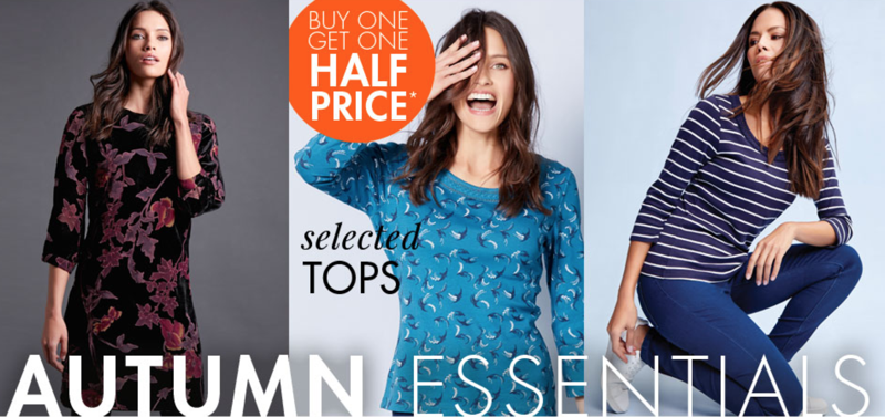 M&Co M&Co: buy one get one half price on selected women's tops