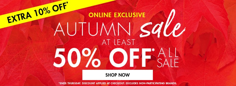 M&Co: Sale 50% off at least women's, men's and kids' clothing