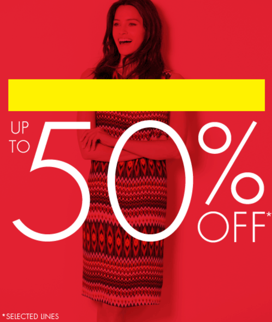 M&Co: Sale up to 50% off womens, mens & childrens clothes and accessories