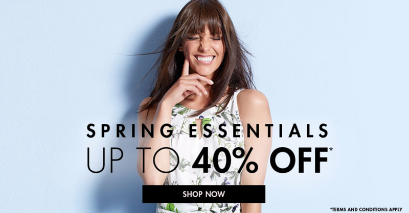 M&Co M&Co: up to 40% off women's clothing