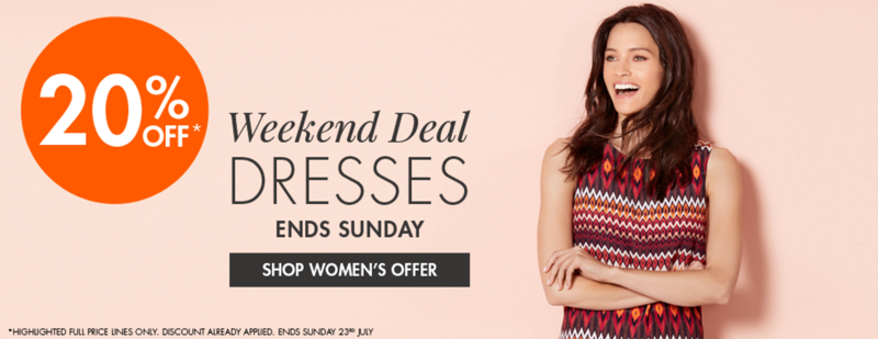 M&Co M&Co: 20% off dresses