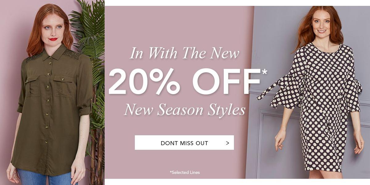 Marisota Marisota: 20% off new season styles