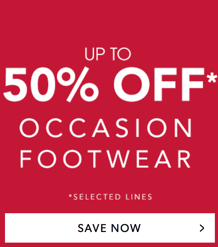 Marisota: Sale up to 50% off occasion footwear