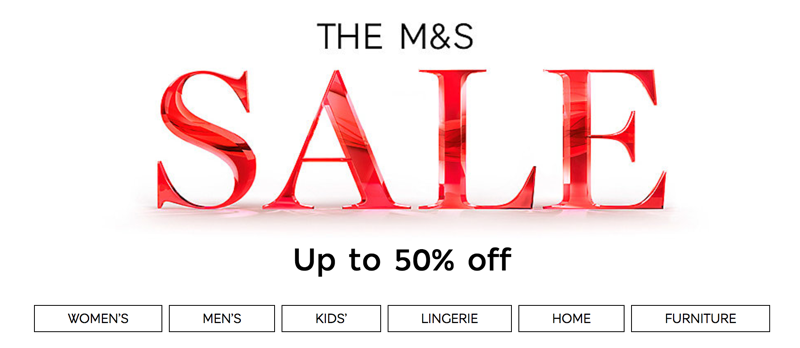 Marks & spencer online shopping clothes