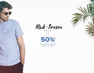 Menlook: Mid Season Sale up to 50% off