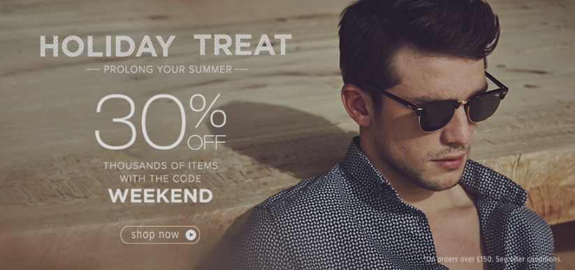 Menlook: 30% off on all orders over £50