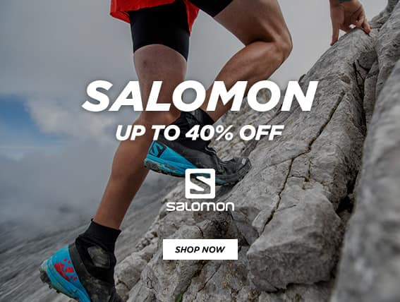 Millet Sports: up to 40% off Salomon sport shoes