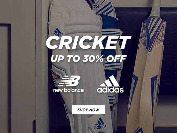 Millet Sports: up to 30% off Adidas and New Balance cricket products
