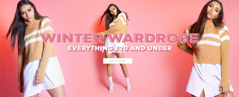 Miss Pap: winter wardrobe £20 and under