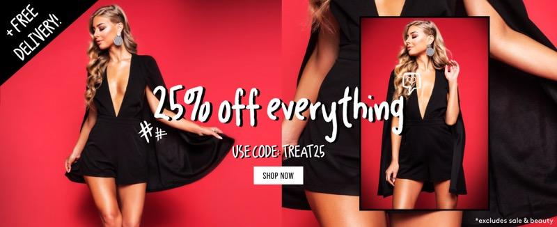 Misspap Miss Pap: 25% off women's fashion