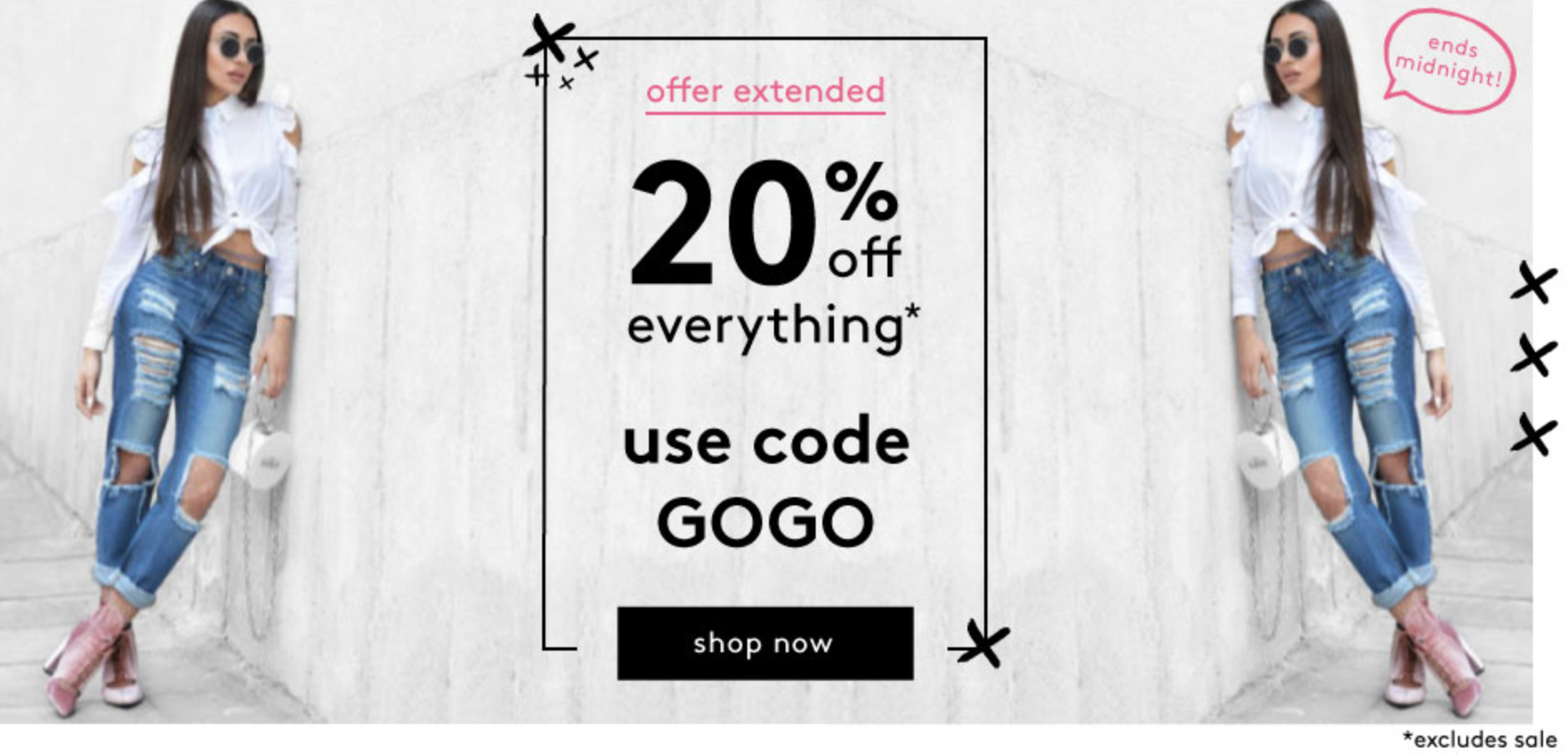 Miss Pap: 20% off everything