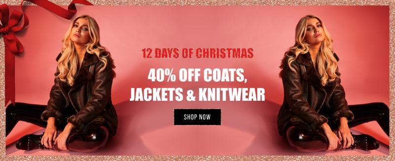Misspap Miss Pap: 40% off coats, jackets & knitwear