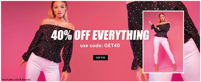 Misspap Miss Pap: 40% off ladies fashion