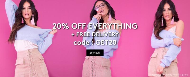 Miss Pap: 20% off women's fashion