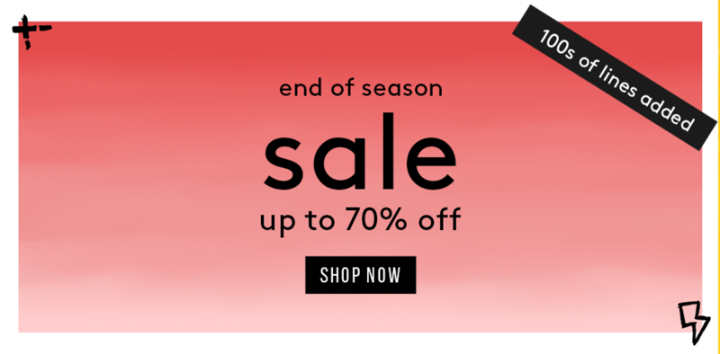 Misspap Miss Pap: End of Season Sale up to 70% off ladies fashion