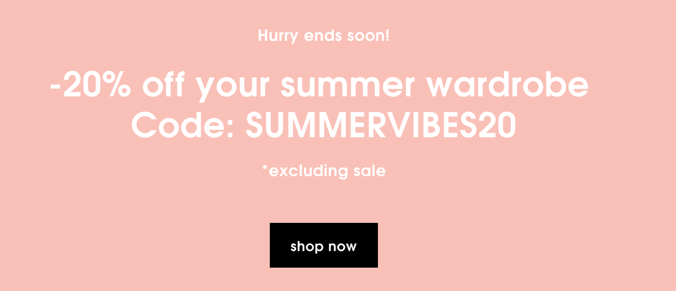 Missguided: 20% off summer wardrobe