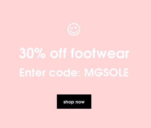 Missguided: 30% off footwear
