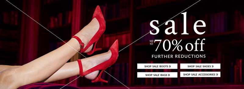 Moda in Pelle: Sale up to 70% off women's shoes