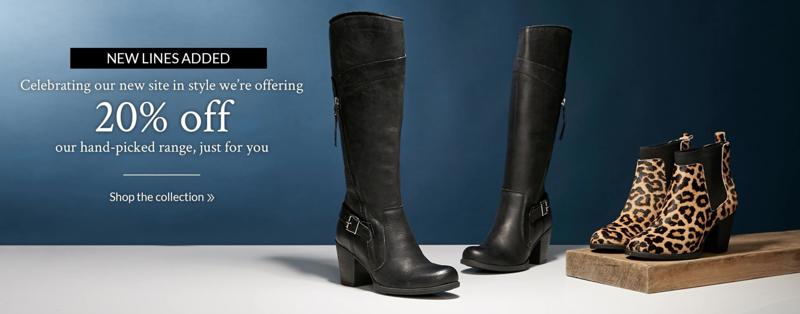Moda in Pelle: 20% off women's shoes