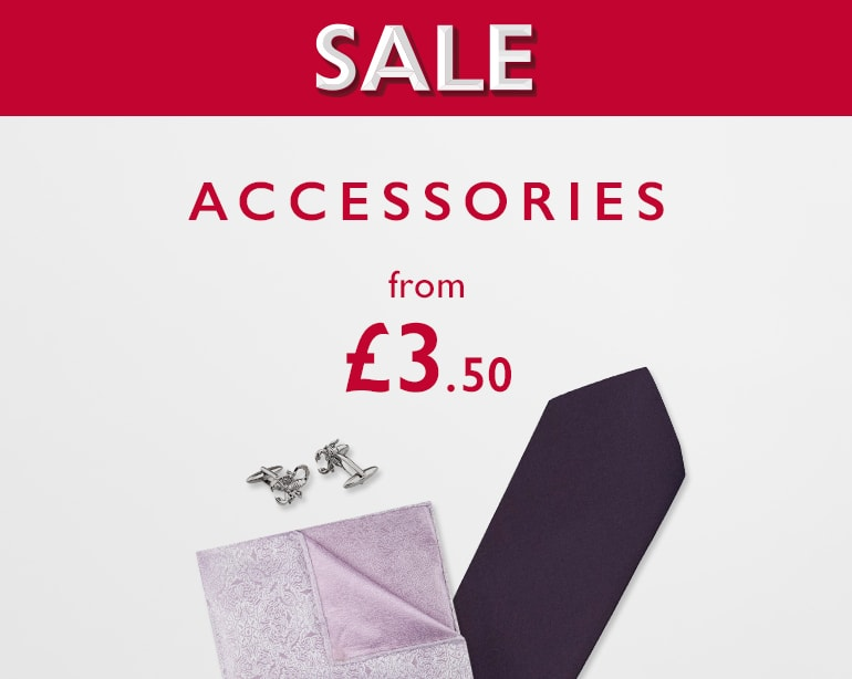 Moss Bros: accessories from £3.50