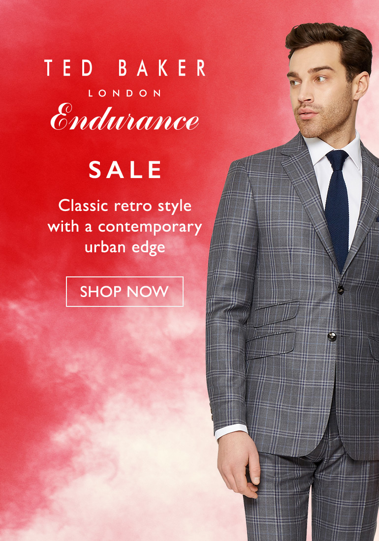 Moss Bros Moss Bros: Sale up to 57% off Ted Baker suits