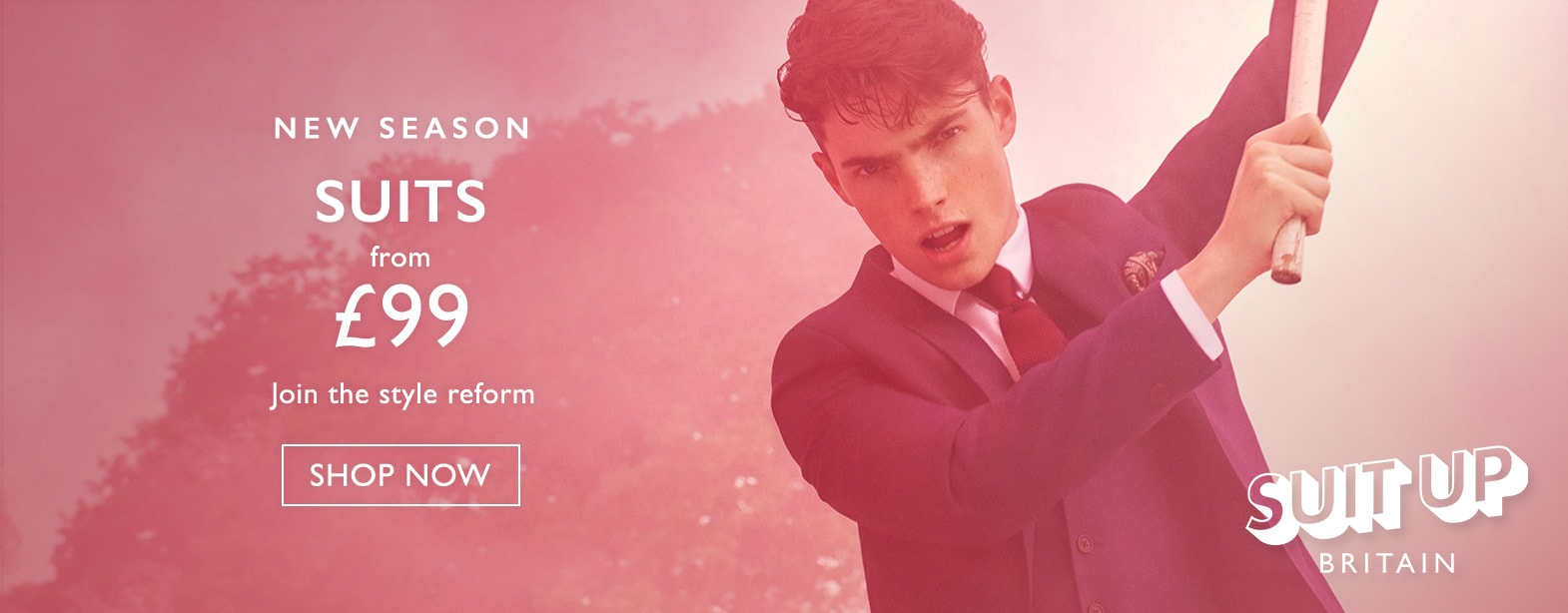 Moss Bros Moss Bros: new season suits from £99