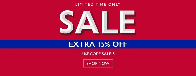 Moss Bros: extra 15% off on formal menswear
