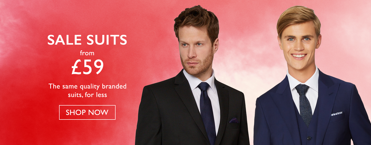 Moss Bros Moss Bros: suits from £59
