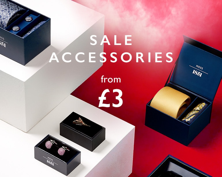 Moss Bros Moss Bros: accessories from £3