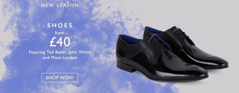 Moss Bros: new season shoes from £40