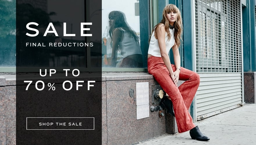 Muubaa: Final Reductions up to 70% off luxury designers women clothing