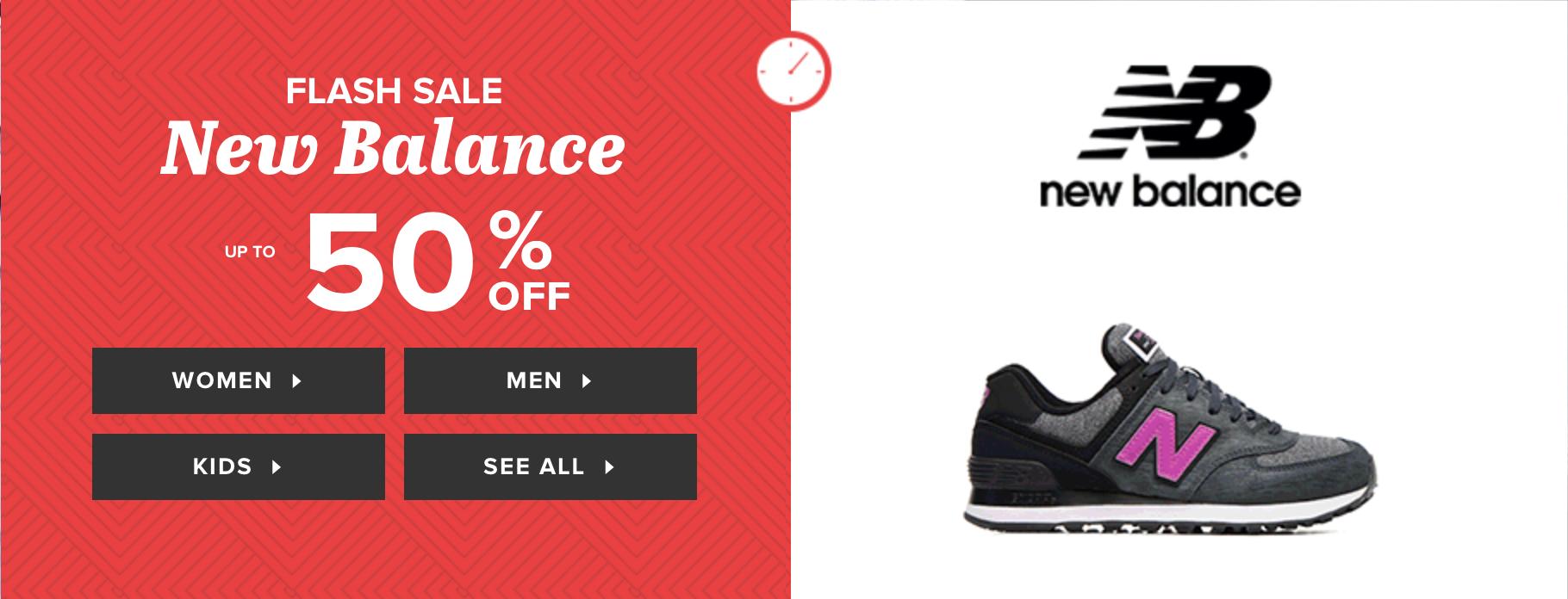 Sarenza: Sale up to 50% off New Balance shoes