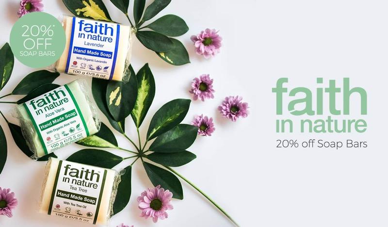 Natural Collection: 20% off natural soap bars