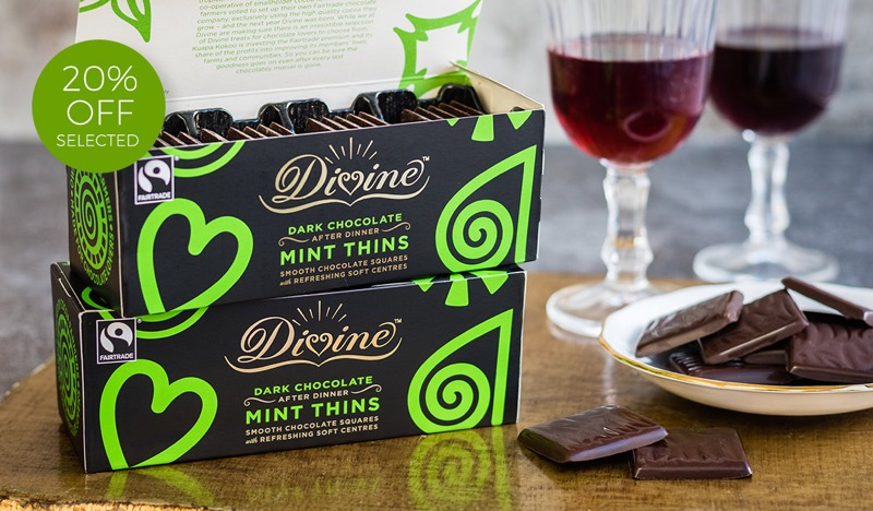 Natural Collection Natural Collection: 20% off selected Divine chocolates