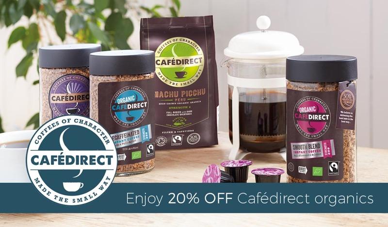 Natural Collection Natural Collection: 20% off Cafédirect organics
