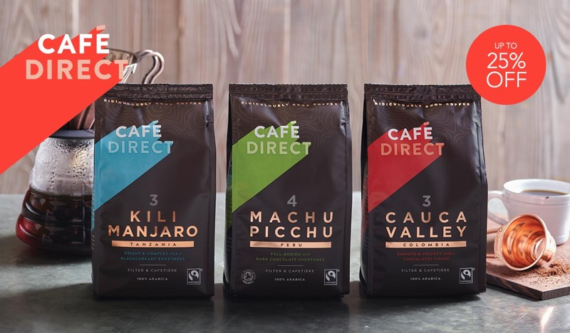 Mybag Mybag: up to 25% off Cafe Direct products