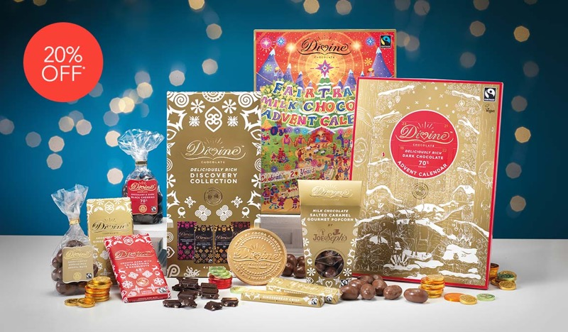 Natural Collection Natural Collection: 20% off Divine chocolate