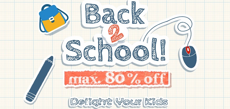 Newfrog Newfrog: Sale up to 80% off Back 2 School products