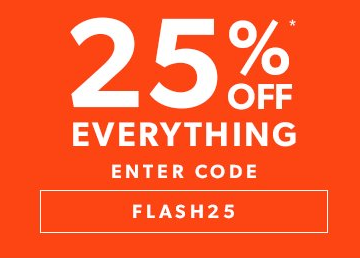New Look: 25% off women, men and teen fashion