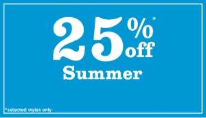 New Look: Summer 25% off