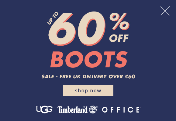 Office Shoes: up to 60% off boots