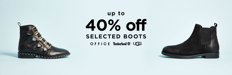 Office Shoes: up to 40% off selected boots
