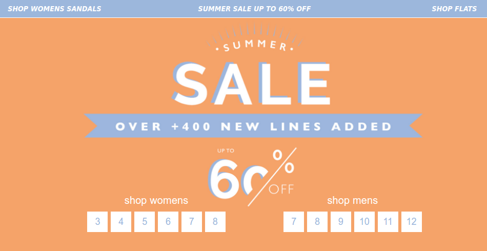 Office Office Shoes: Summer Sale up to 60% off shoes and footwear